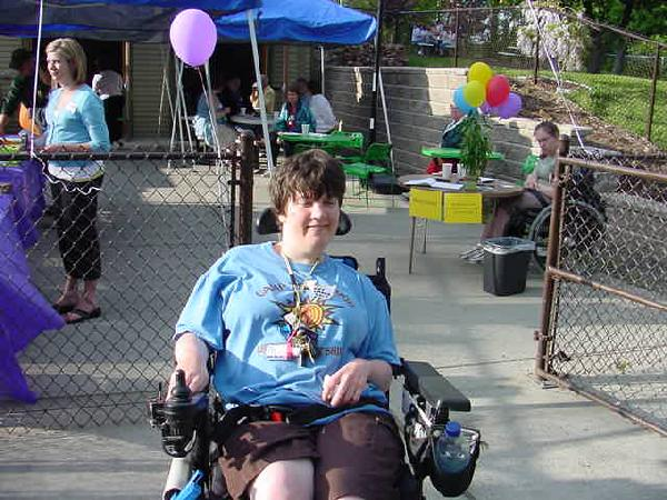 Inclusion advocate Terri at The Arc's Annual Meeting