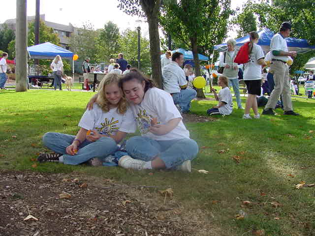 Friends at the 5th Annual Buddy Walk