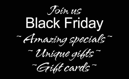 Black friday at essentials spa salon for Tapis salon black friday