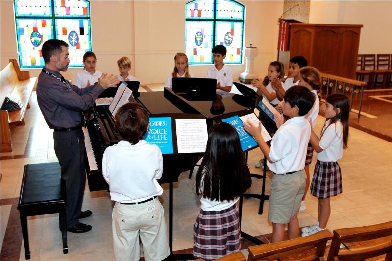 Chorister Class uses VOICE for LIFE
