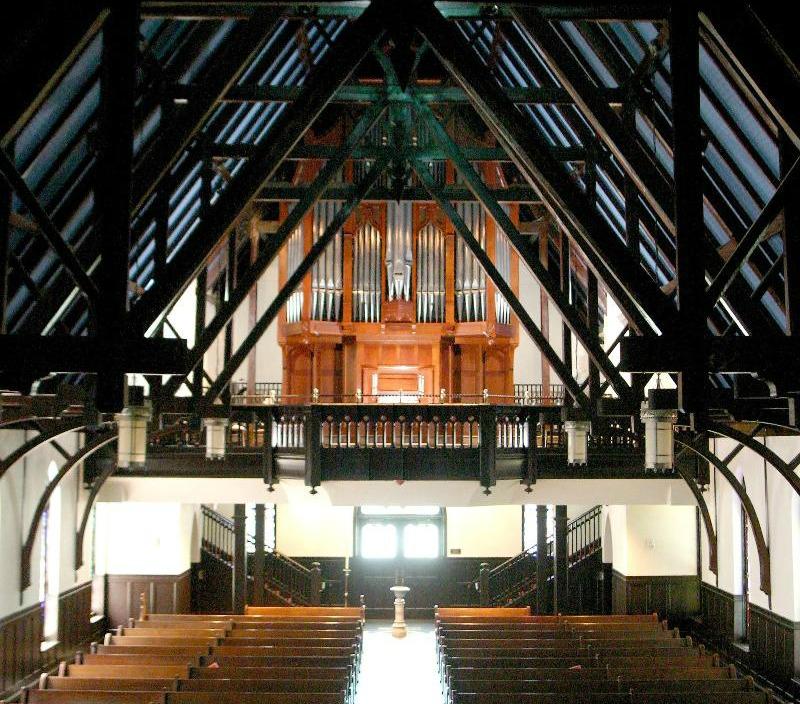 St. John's nave and organ