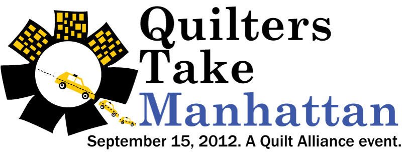 Quilters Take Manhattan logo