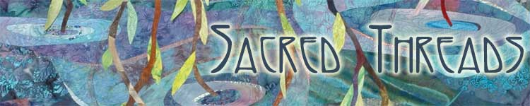 Sacred Threads logo
