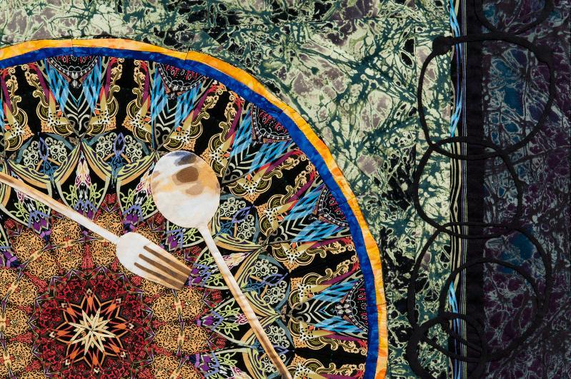 Paula Nadelstern Kaleidoscopic XXXV detail image