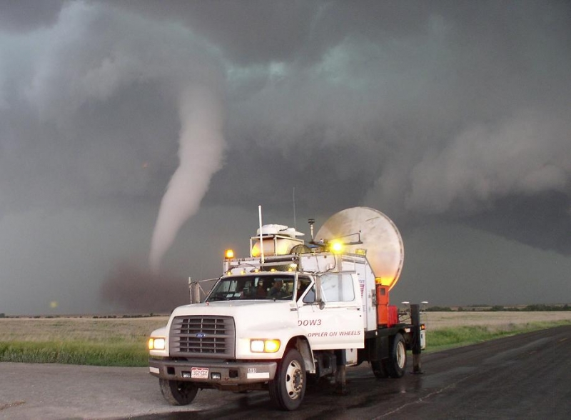 A Stormchaser Truck