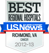 US News Best Cancer Care badge