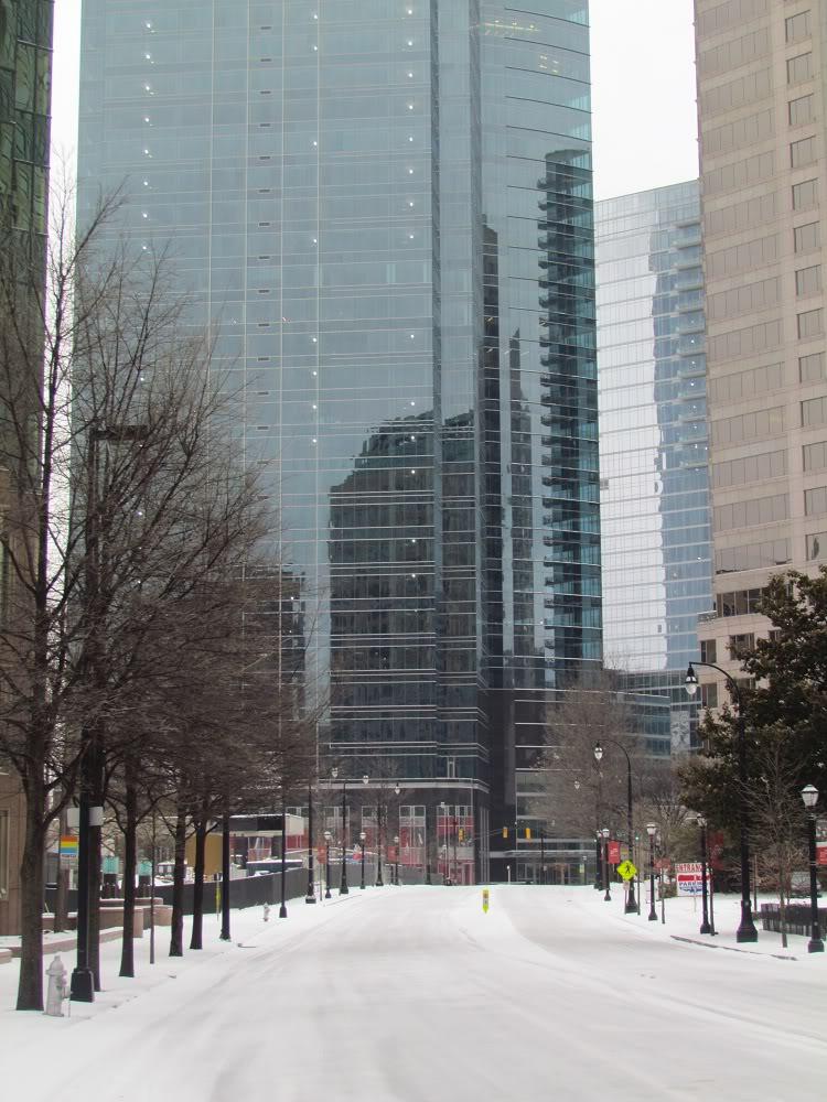 Snow Peachtree Rd.