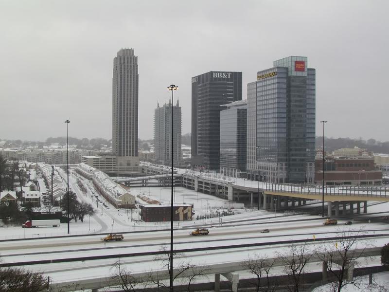 Atlantic Station Snow