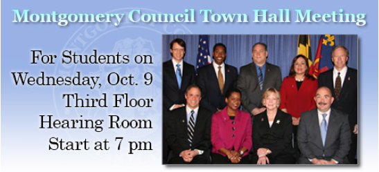 MOCO town hall meeting for students