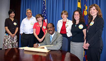 Leggett signed Literacy Scroll