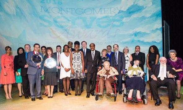 Montgomery Serves Awards 2016 honorees