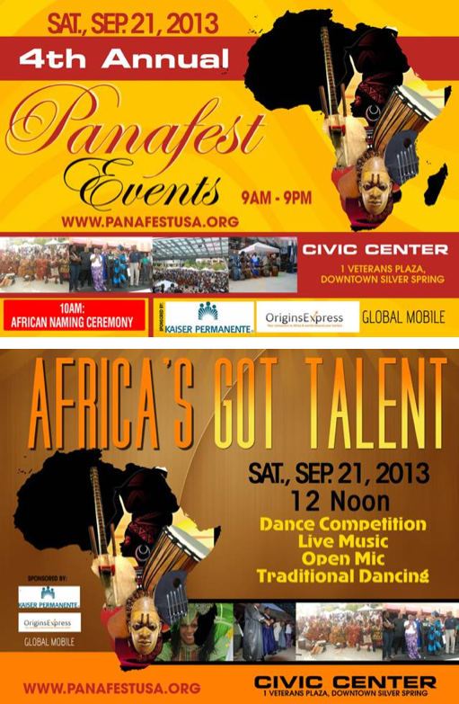 African Festival poster