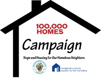 100,000 Home Campaign Logo