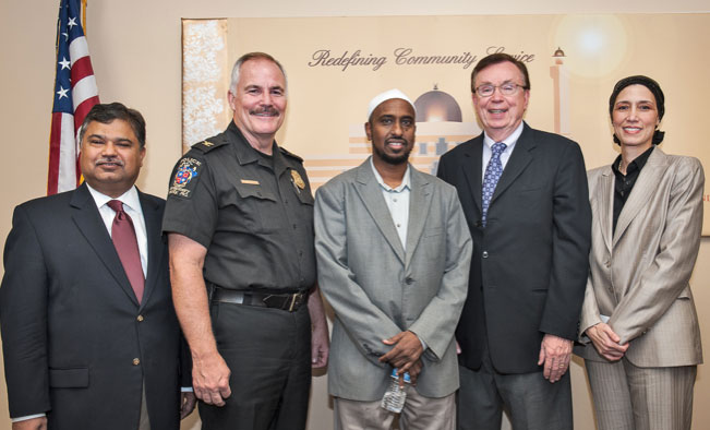 Interfaith group with police department