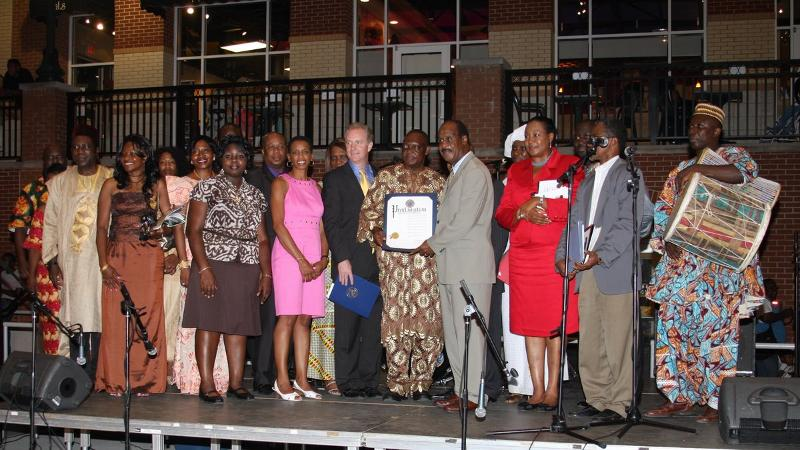 Leggett and other officials celebrate African Heritage Month