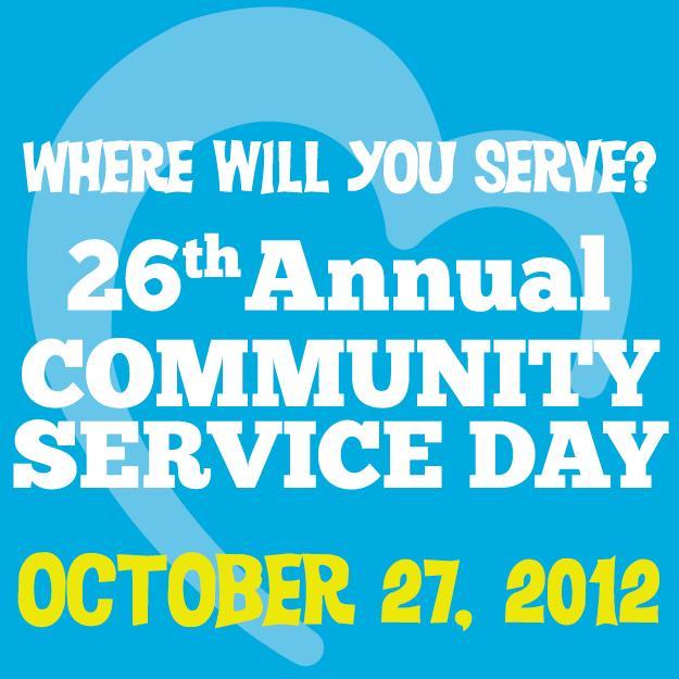 Community Service Day 2012