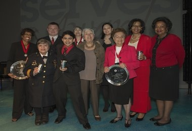 Montgomery Serves Award Winners 2013
