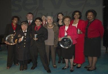 Montgomery Serves Award Winners 2013