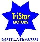 tristar motors star logo with gotplates.com