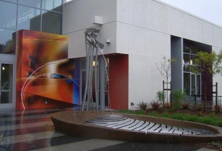W Valley Library Artichoke Art