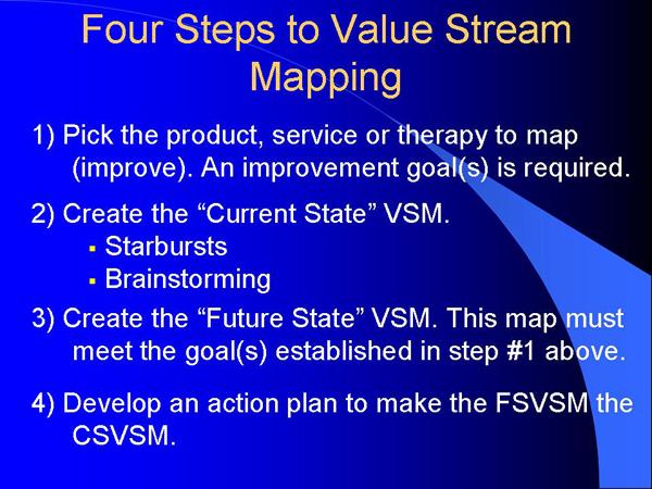 VSM 4 Steps