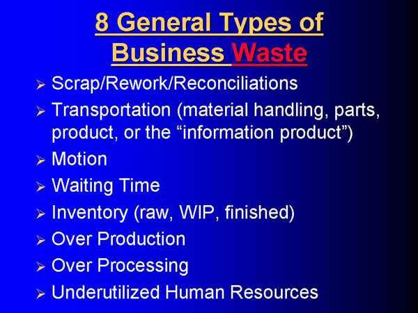 8 General Wastes