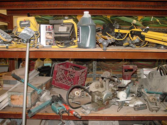 Tool Room Before