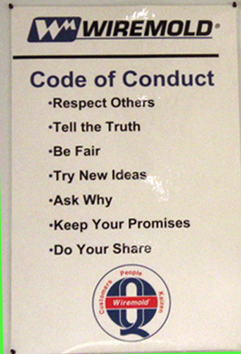 Code of Conduct Only
