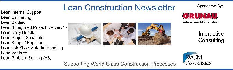 Lean Construction Banner