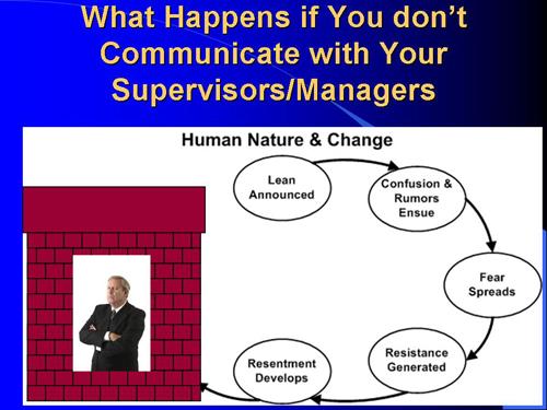 Supervisor Resistance to Change