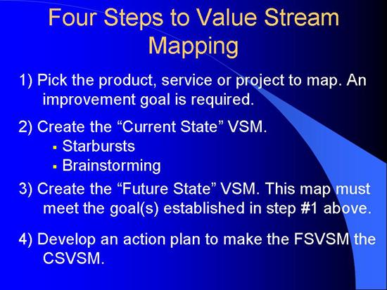 VSM Steps - Construction