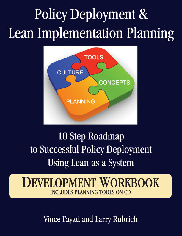 Policy Deployment and Lean Implementation Planning
