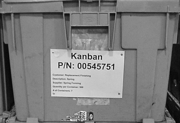 Kanban Container