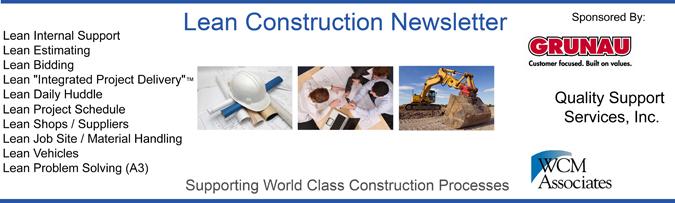 Lean Construction Header