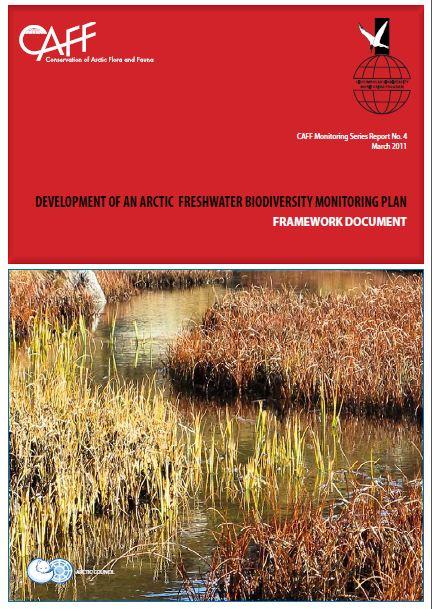 Arctic Freshwater Biodiversity Monitoring Plan Framework Document Cover