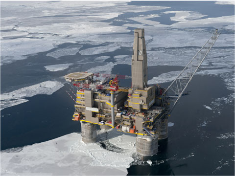 Oil rig. Photo: Shell