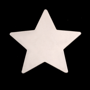 Sterling Silver Large Star Blank