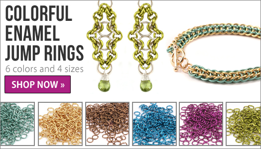 Beaducation colored jump rings