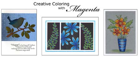 Creative Coloring with Magenta