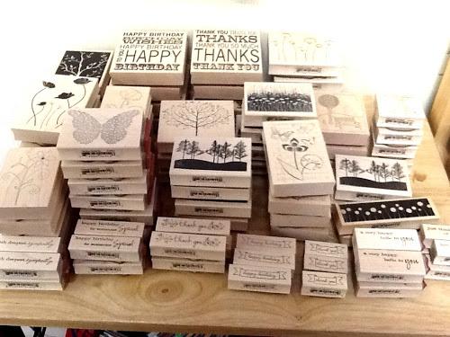 Memory Box stamps