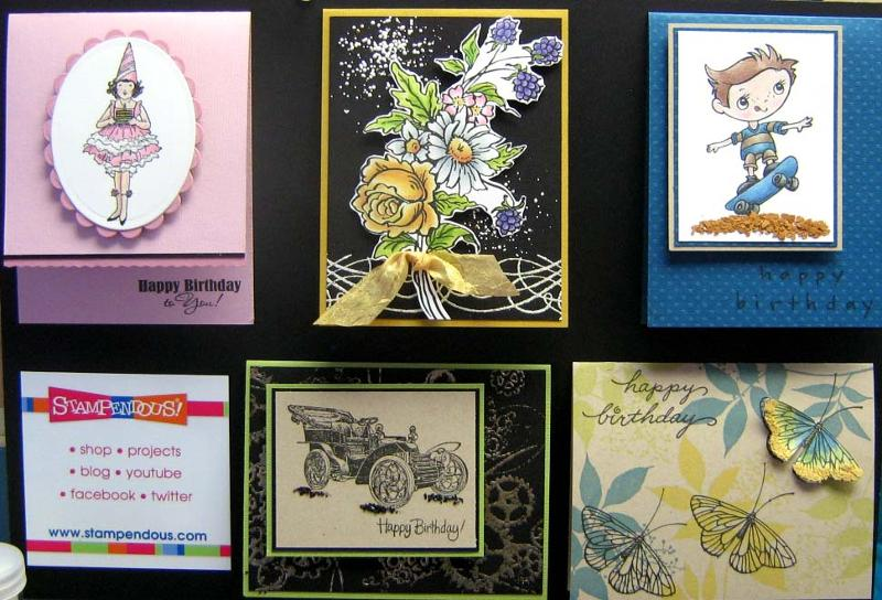 Stampendous Birthday Board