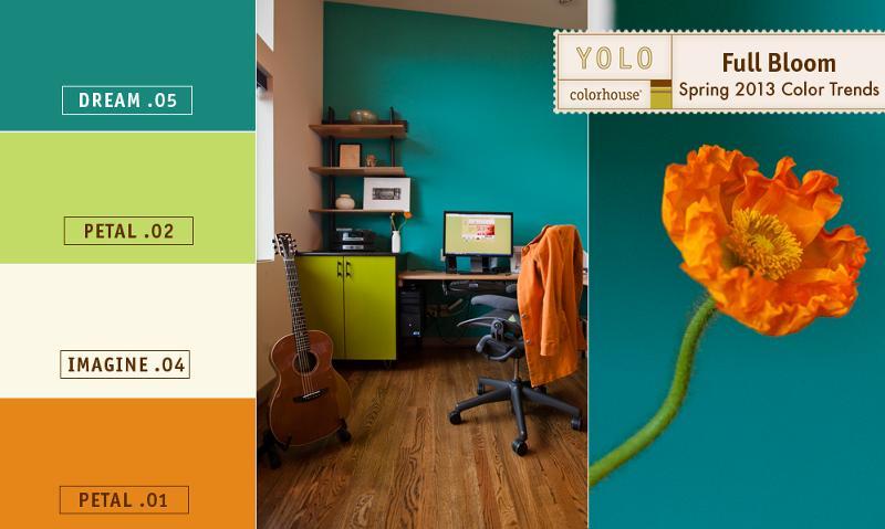 Full Bloom Spring Color Trends