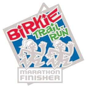 Birkie Trail Run Marathon Medal