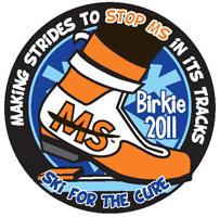 2011 Birkie MS Pin