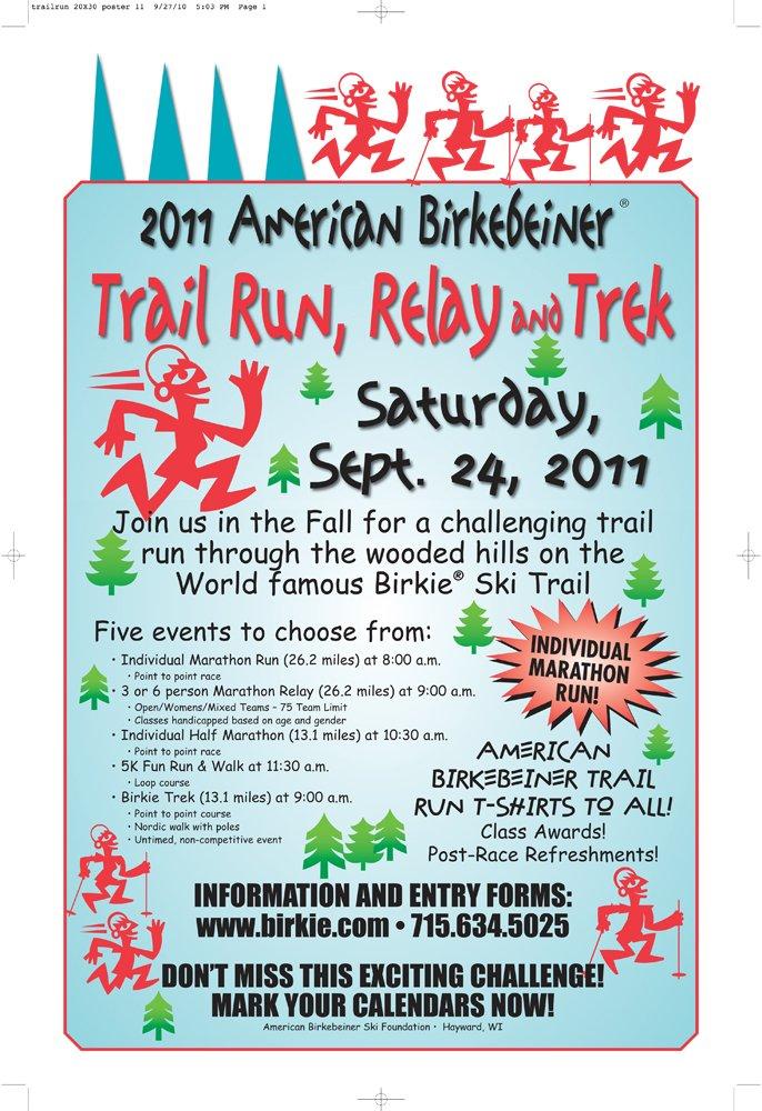 2011 Birkie Trail Run
