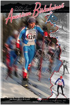 2011 Birkie Poster