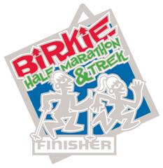 Birkie Half Marathon Trek Medal