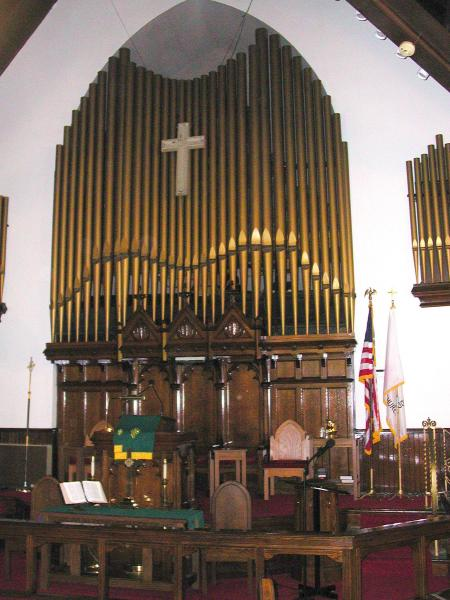 Camphor Pulpit