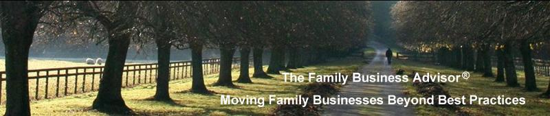 The Family Business Advisor