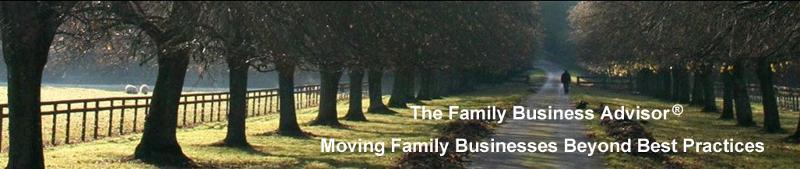 The Family Business Advisor